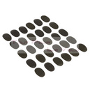 Protection autocollant 20x30mm carbone douille direction (jeu de 30 pieces)