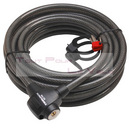 Antivol cable TRELOCK ks 745 special magasin a cle 10m diam. 15mm (cable blinde)
