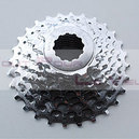 Cassette import 9v. shimano 12-28d. chrome