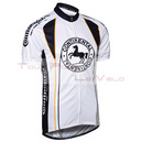 Maillot cycliste adulte continental blanc   S