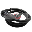 Antivol velo cable TRELOCK diam 12mm L 75cm a combinaison programmable (ks205)