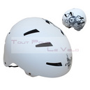 Casque cycliste ges bmx free blanc taille 58-61