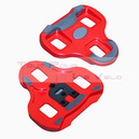 Cale pedale look keo grip rouge (paire)
